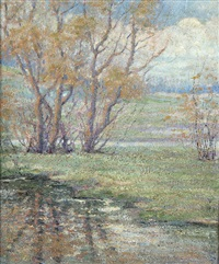 minnehaha in spring by carl wendell rawson