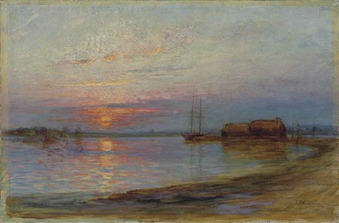 sunset by tudor st george tucker