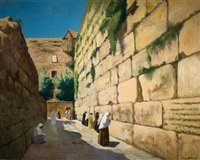 the wailing wall by louis billiard
