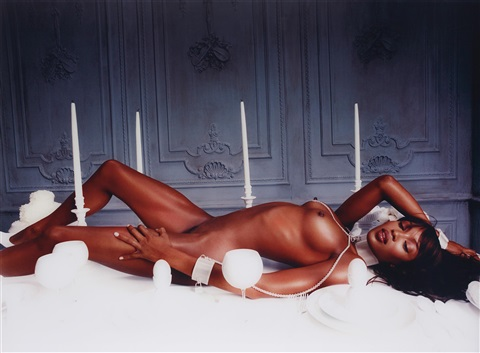 naomi campbell: bon apetite, new york by david lachapelle