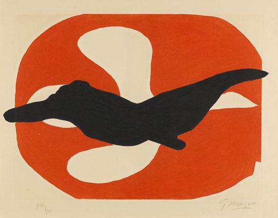 lordre des oiseaux pl 7 by georges braque