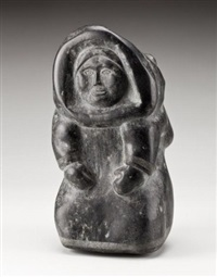 kneeling woman by anonymous-inuit