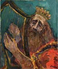 king david by isaac frenel