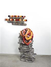 untitled (crushedrolleddropped) by phyllida barlow