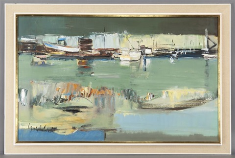 fishing boats by sidney goldblatt