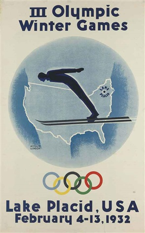 iii olympic winter games lake placid usa 1932 by witold gordon