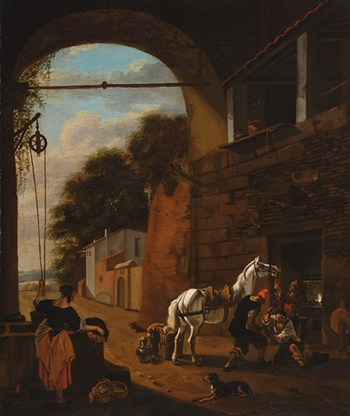 the horse smith by jan miel