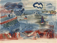 le havre by raoul dufy