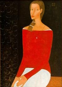her portrait by roman zakrzewski