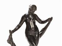 la danseuse au voile by pierre-auguste renoir