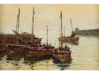 north east harbour by robert weir allan