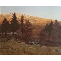 a highland farmstead by george houston