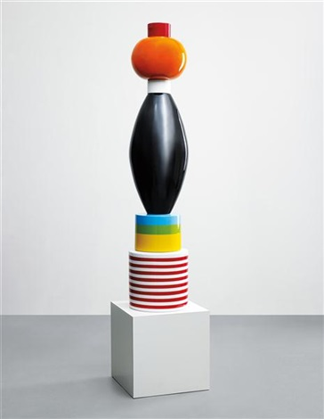 menta totem by ettore sottsass