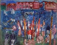 la régate à henley, 1930-35 by raoul dufy