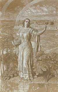 pearl (2 works) by william holman hunt
