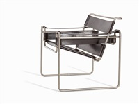 armchair b3 wassily by marcel breuer
