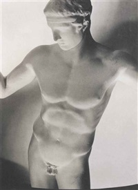 classic greek statue, paris by horst p. horst
