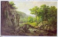 paysage de franche-comté by jean-jean cornu