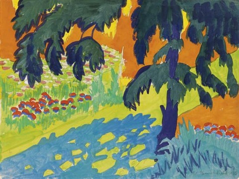 hot morning by charles ephraim burchfield
