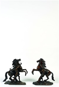 les chevaux de marly by guillaume & nicolas coustou