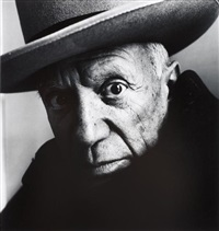 picasso (b), cannes by irving penn