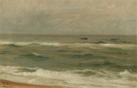 scenery from skagen by michael peter ancher