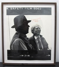 untitled by joseph beuys and andy warhol
