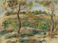 paysage by pierre-auguste renoir