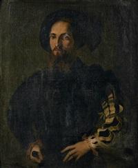 portrait de gentilhomme by parmigianino