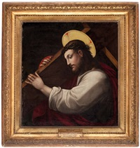 kreuztragender christus by fra bartolommeo