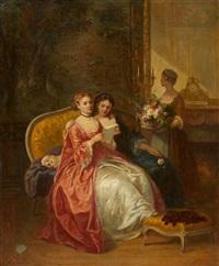 la lettre by louis-charles-auguste couder