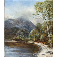 ben a'an from loch katrine by james faed