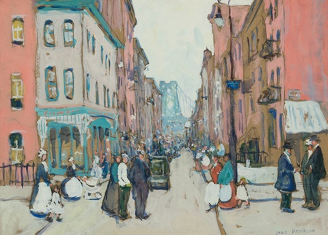 mott street by jane peterson