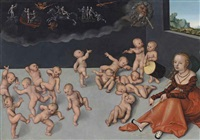 melancholia by lucas cranach the elder