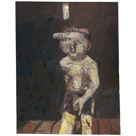 grosse nacht big night by georg baselitz