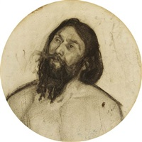head of christ by henry ossawa tanner
