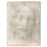 the head of christ by agnolo bronzino