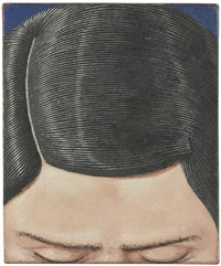portrait de louis t by domenico gnoli