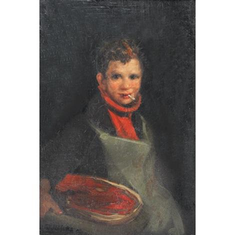 butcher boy (east end) by george benjamin luks