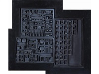 city - space - scape xvii by louise nevelson