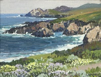 carmel by the sea near yankee point by carl sammons