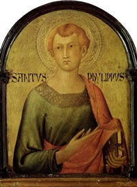 saint philip. by simone martini