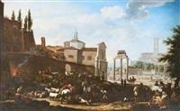 campo vaccio (forum romanum) by jacob de heusch