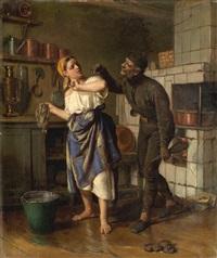 chimney sweep by firs sergeyevich zhuravlev