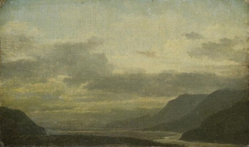 les montagnes en dauphiné by jean baptiste camille corot