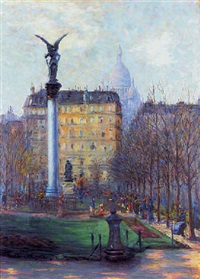 square d'anvers, paris by rudolf quittner