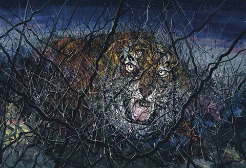 the tiger by zeng fanzhi