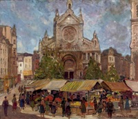 market day by maurice paul