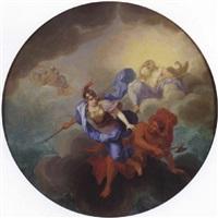 la naissance de minerve by rené antoine houasse