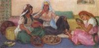 le thé dans le salon arabe by jeanne janoge